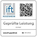 certifikát ift: Odolnost proti přívalovému dešti