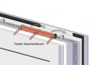 arimeo classic S Fensterfalzlüfter feinfühlige Luftstromregulierung