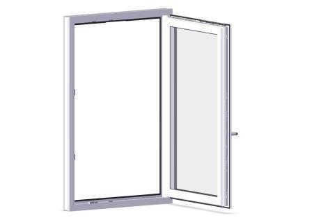 Правильно відрегульовані пластикові вікна