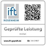 certifikát ift: Hodnoty pruchodnosti vzduchu