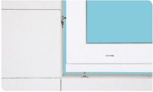 Fensterbefestigung mit Tragteller für nachhaltige Lastabtragung und Befestigungsanker für Fenstermontage bis in die Dämmebene