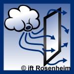 Überströmdichtung vom ift Rosenheim geprüft