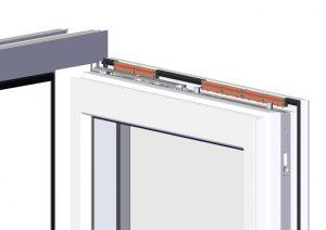 Verbrennungsluftversorgung mit arimeo Fensterfalzlüftern