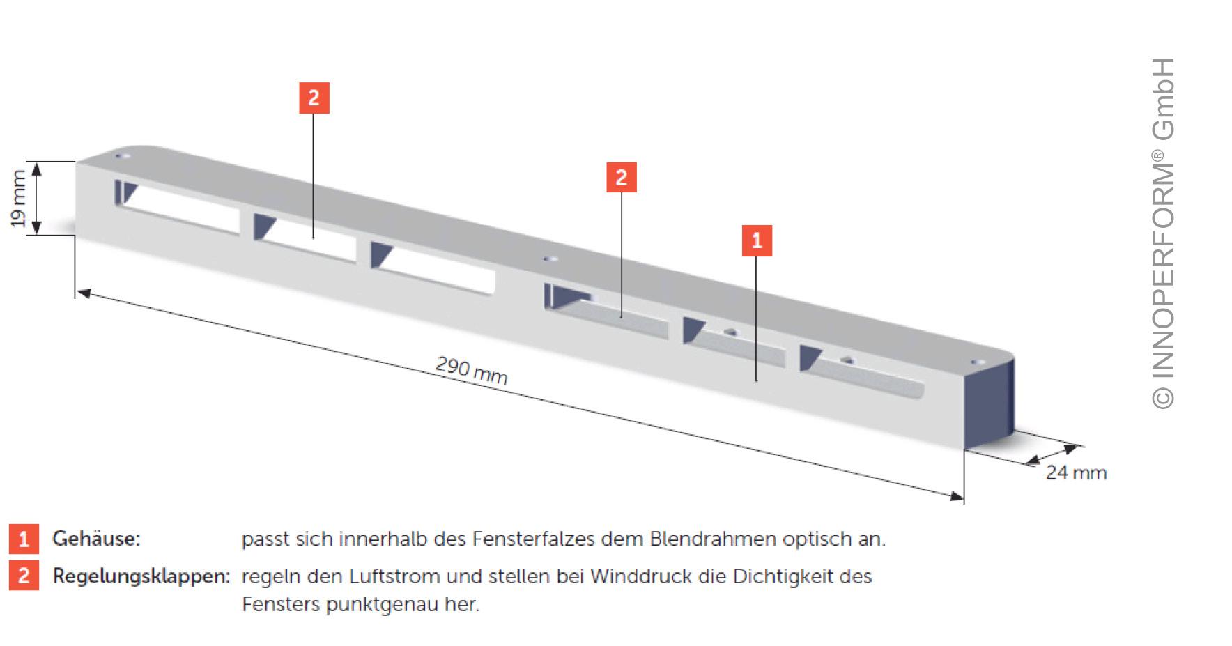 Gut gemocht Neu! arimeo – der beschlagsunabhängige Fensterfalzlüfter - Innoperform BB67